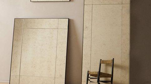 Espejos envejecidos de Zara Home con los que sumar elegancia a tu hogar