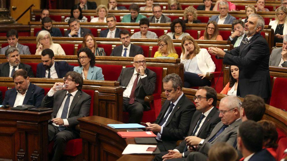 El Parlament de Cataluña vota la ley del referéndum de independencia