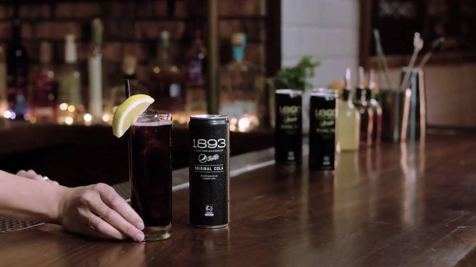 Foto: Imagen del anuncio de Pepsi promocionando el kalimotxo
