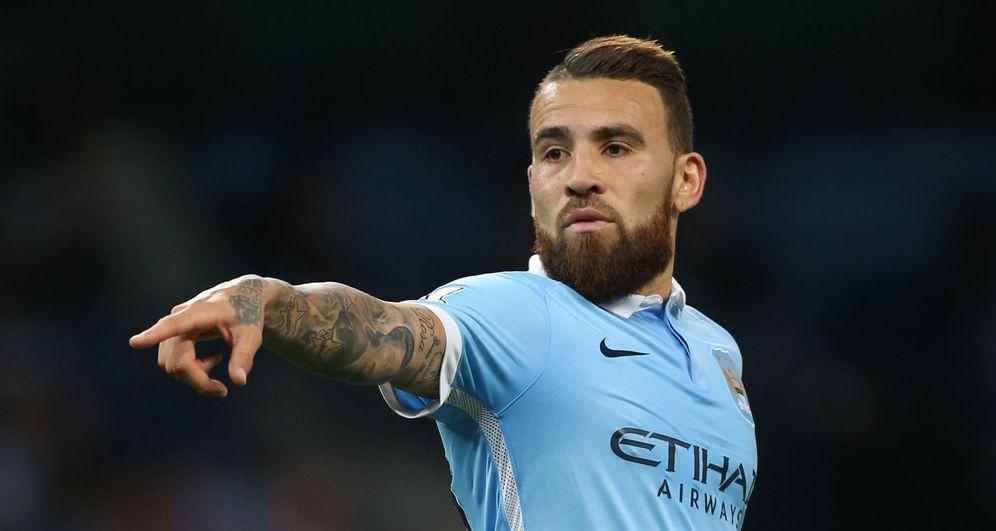 Foto: Otamendi es la gran referencia defensiva del Manchester City (Reuters)