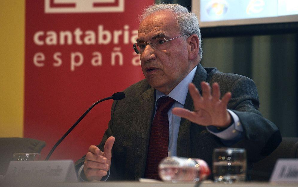 Foto: El exvicepresidente del Gobierno socialista Alfonso Guerra. (EFE)