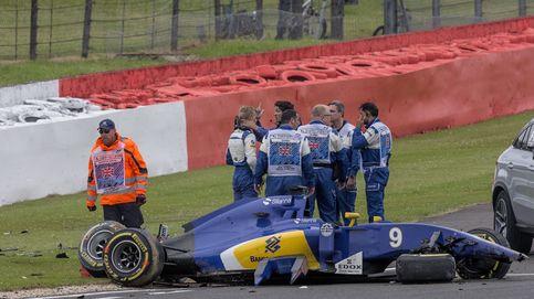 Vettel acaba cabreado la sesión y Ericsson se da un fuerte 'castañazo'