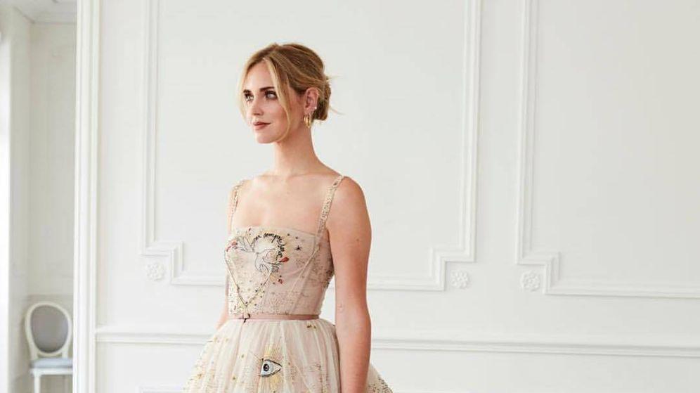 bodas: el segundo vestido -y medio- de la boda de chiara ferragni y