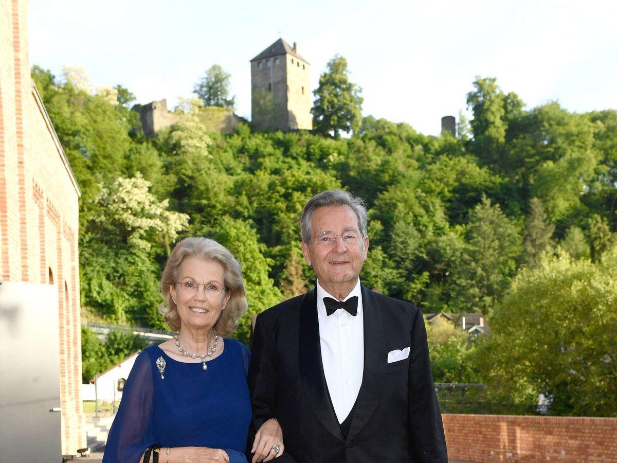 Foto: Alexander y Gabriela Sayn-Wittgenstein, exsuegros de Corinna. (Cordon Press)