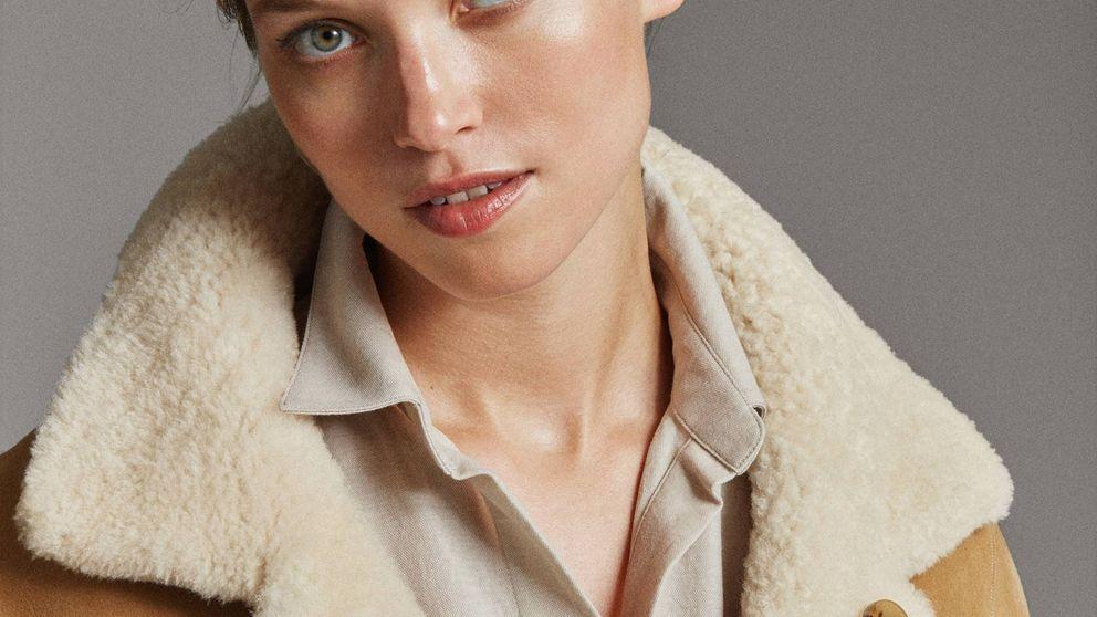 Vas a querer que baje la temperatura para estrenar este abrigo reversible de Massimo Dutti