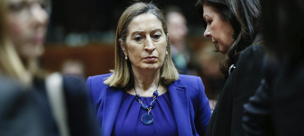 Foto: La ministra española de Fomento, Ana Pastor. (EFE)