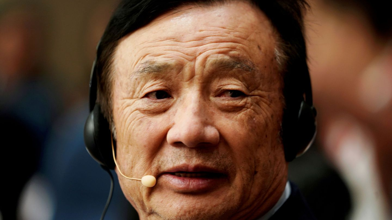 El fundador de Huawei, Ren Zhengfei. (Reuters)