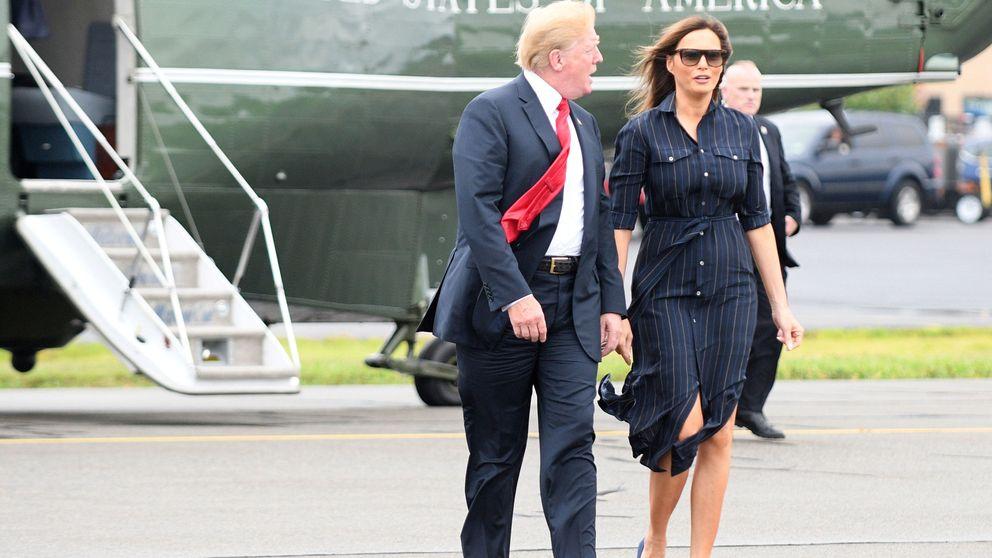 Consigue el look de moda de Melania Trump por muy poco