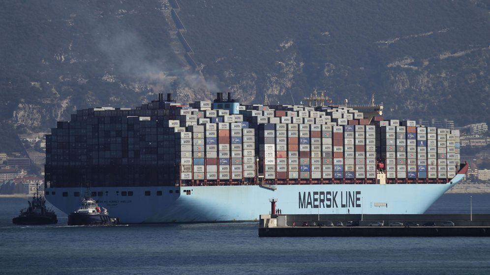Foto: Buque de carga en el puerto de Algeciras (Efe)