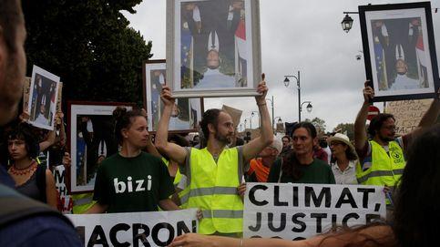 La fuerte presencia policial desactiva las protestas en la calle por la cumbre del G-7