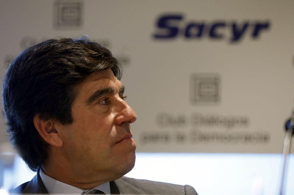 Foto: El presidente de Sacyr, Manuel Manrique.