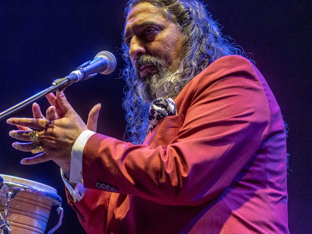 Foto: El Cigala, en un concierto en Madrid. (EFE)