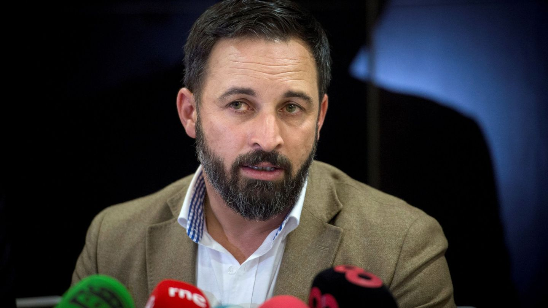 El líder de Vox, Santiago Abascal. (EFE)