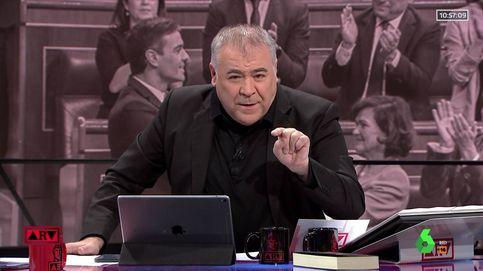 Un micro abierto deja al descubierto el enfado de Ferreras en 'Al rojo vivo'