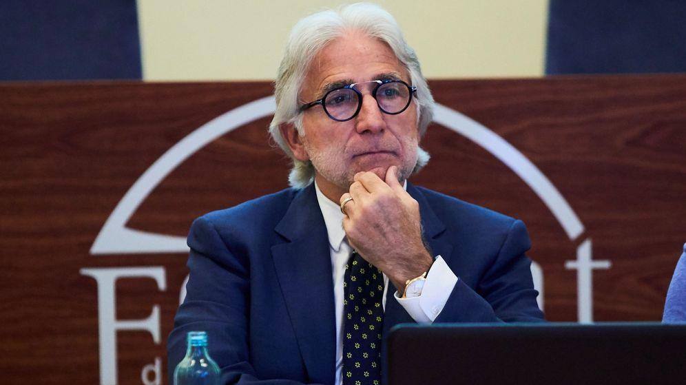 Foto: El presidente de la patronal Fomento del Trabajo, Josep Sánchez Llibre. (EFE)