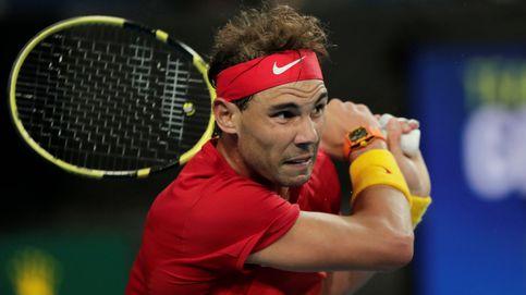 El pleno de España en la ATP Cup: esta vez Rafa Nadal no tuvo que redoblar esfuerzos
