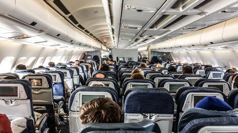 Así eran los asientos de avión y así son hoy