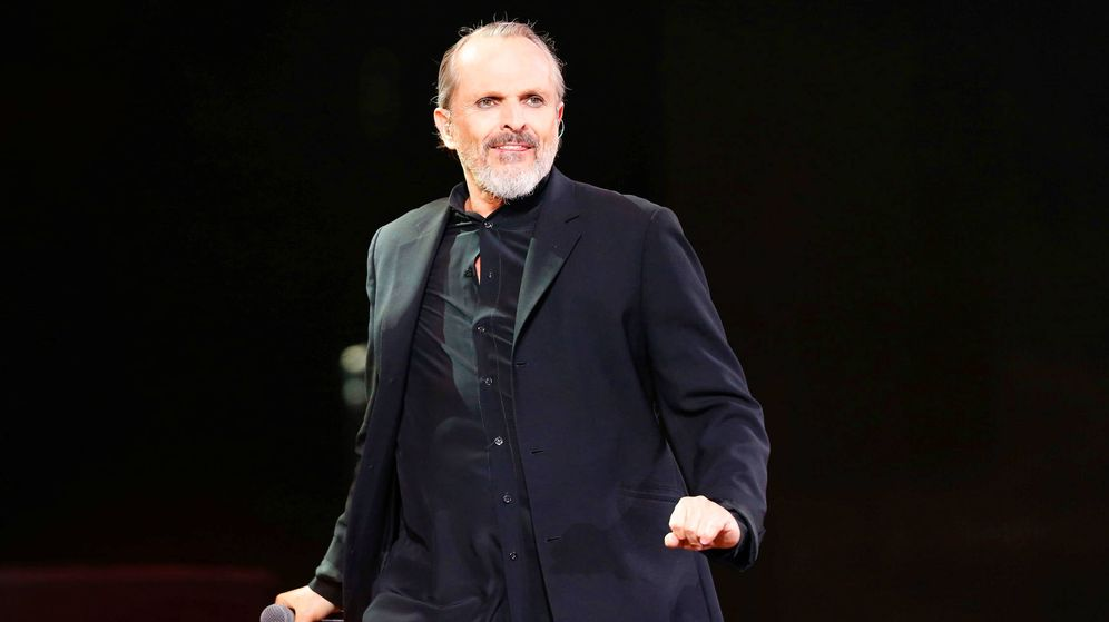 Foto: Miguel Bosé, durante un concierto. (Reuters)