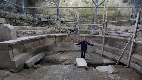 Descubierto un anfiteatro romano en el muro de las lamentaciones