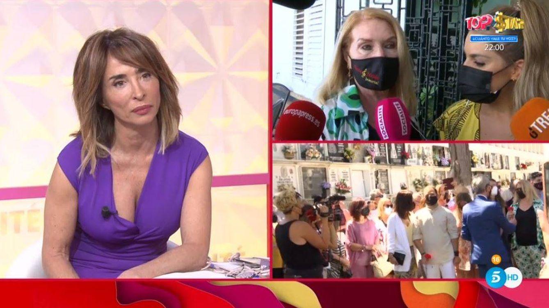 'Socialité'   Tensión entre María Patiño y la hermana de Rocío Jurado: ¿Estás enfadada?