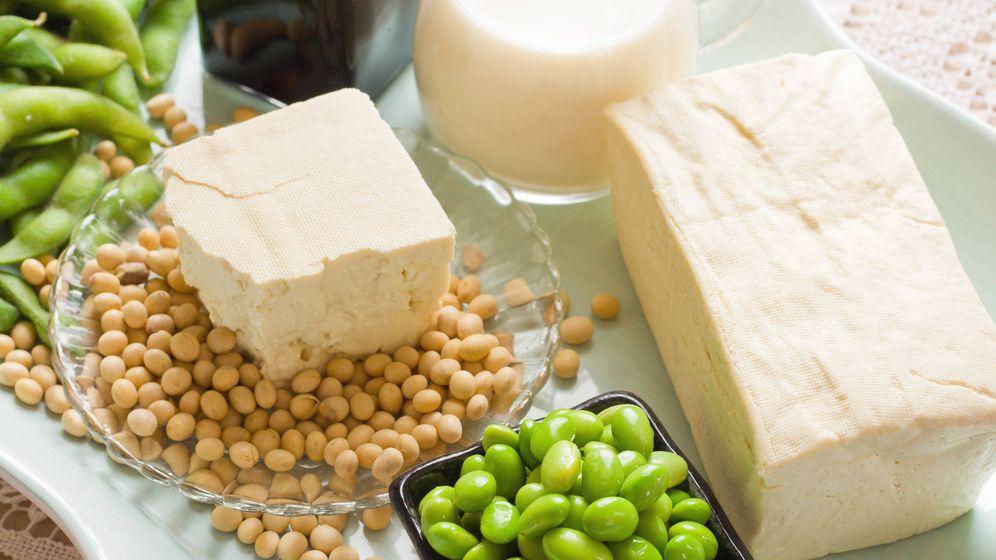 Foto: Soja y sus productos derivados. (iStock)