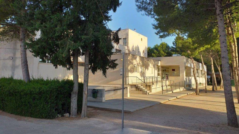 Edificio de la residencia Virgen de la Esperanza, construido con fondos poco claros. (AMPY)
