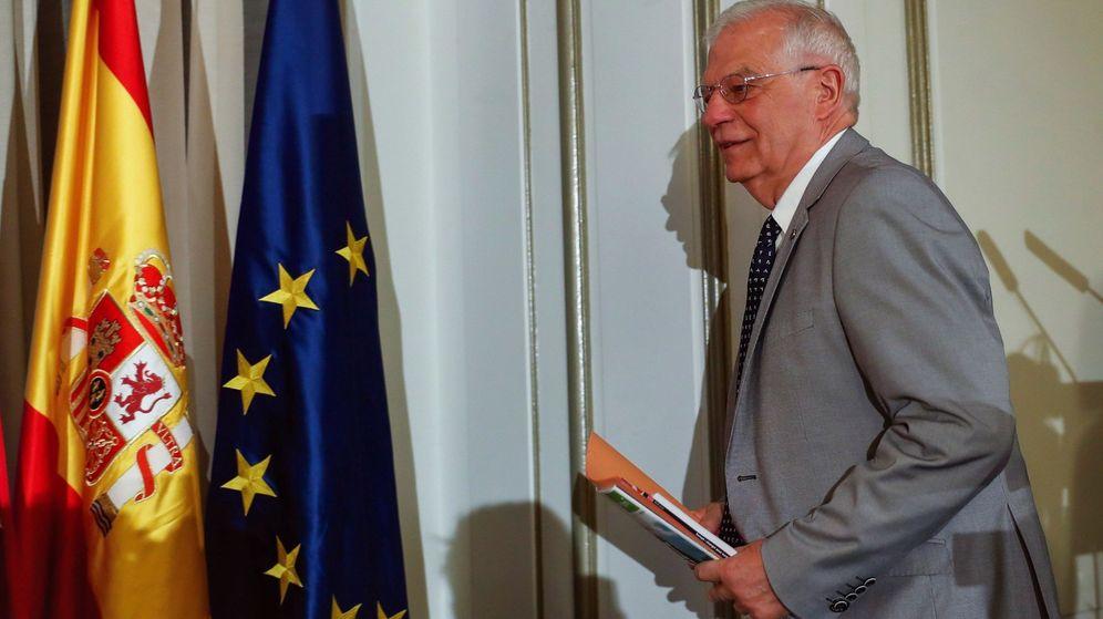 Foto: Josep Borrell, ministro de Asuntos de Exteriores en funciones y cabeza de lista del PSOE a las elecciones europeas (Efe)
