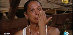 Post de Isabel Pantoja se rompe en 'SV' al escuchar la traición de Toñi y Encarna