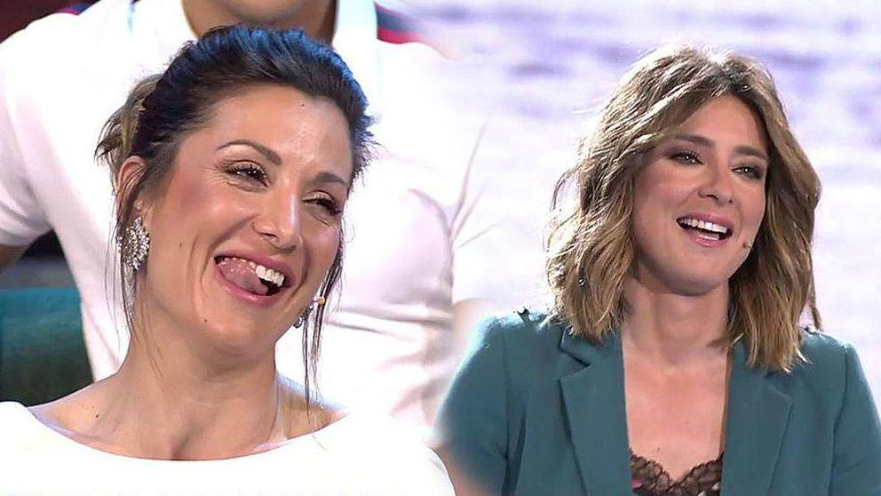 Nagore Robles saca los colores a Sandra Barneda al bromear con su boda