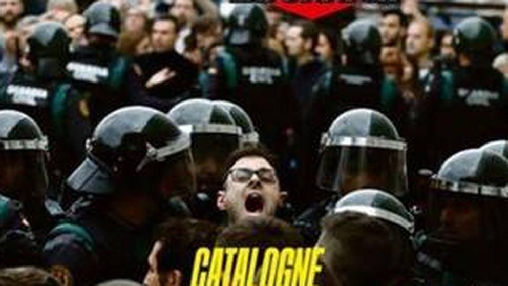 La prensa internacional lleva en sus portadas las cargas policiales del 1-O