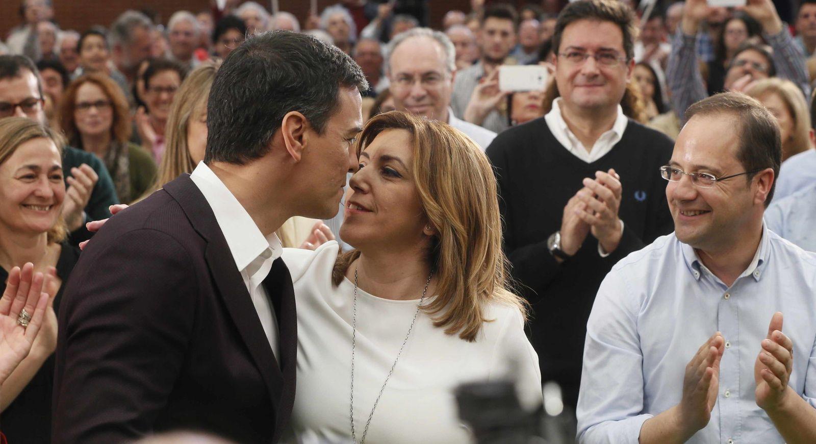 PSOE Pedro Sánchez Susana Díaz partidos políticos