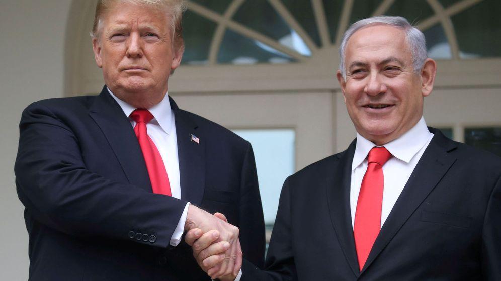 Foto: Donald Trump y Benjamin Netanyahu. (Reuters)