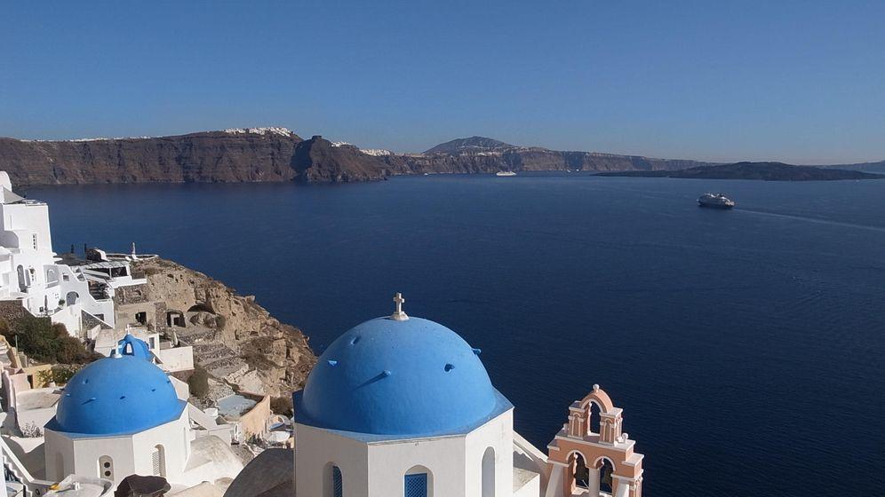 Foto: Las Islas Cícladas, en Grecia. (Flickr/Maggie Meng)