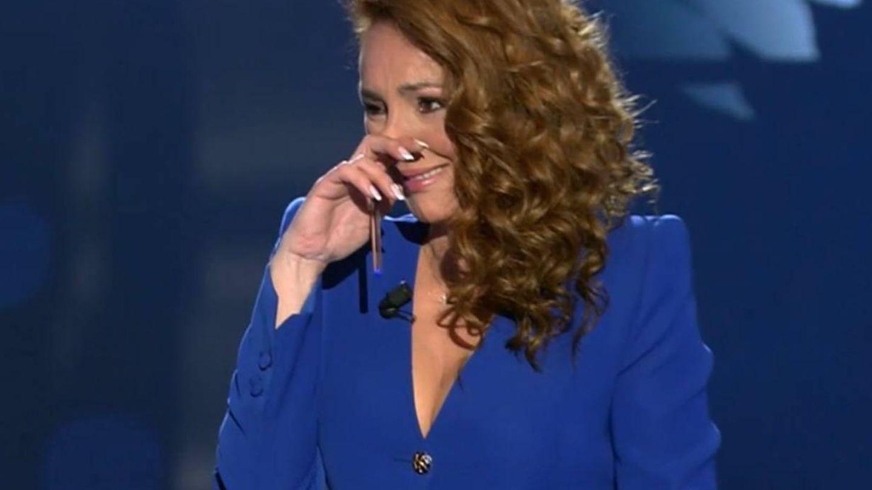 Rocío Carrasco, en la entrevist. (Mediaset)