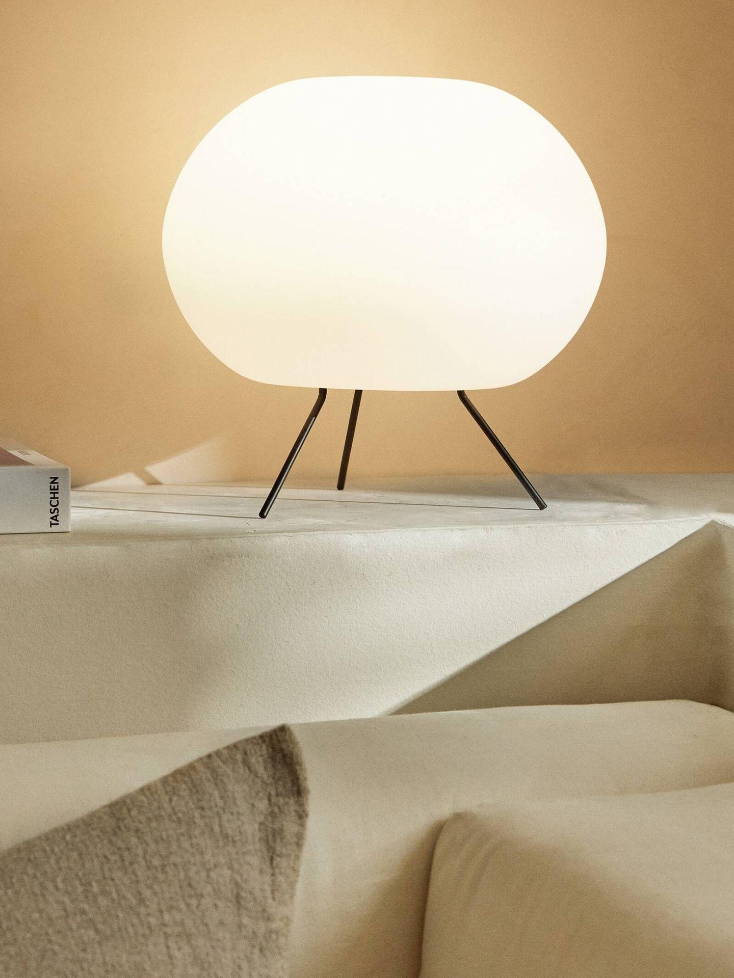 Novedades en lámparas de Zara Home para tu casa. (Cortesía)
