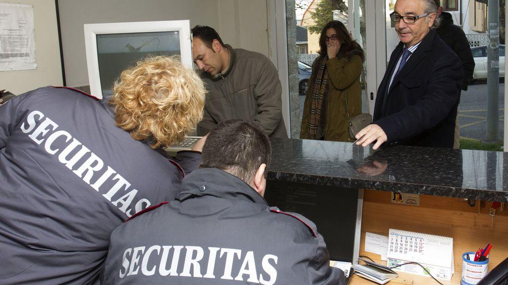 Foto: Ángel Lavín, expresidente del Racing. (EFE)