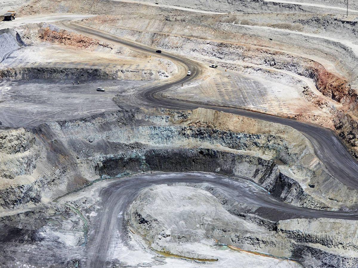 Foto: Corta minera de CLC. (Las Cruces)