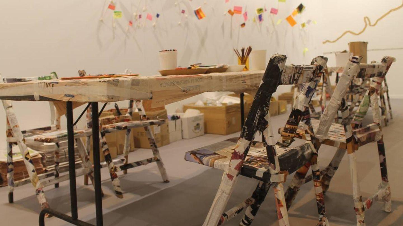 Imagen de los talleres de ARCO para los más pequeños de la casa.