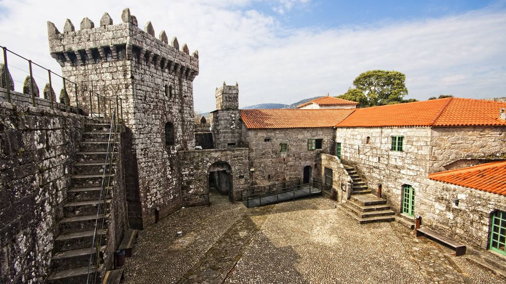 Foto: El castillo de Vimianzo. (Foto: Turismo Galicia)