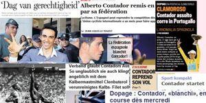 La prensa internacional clama contra la absolución de Contador