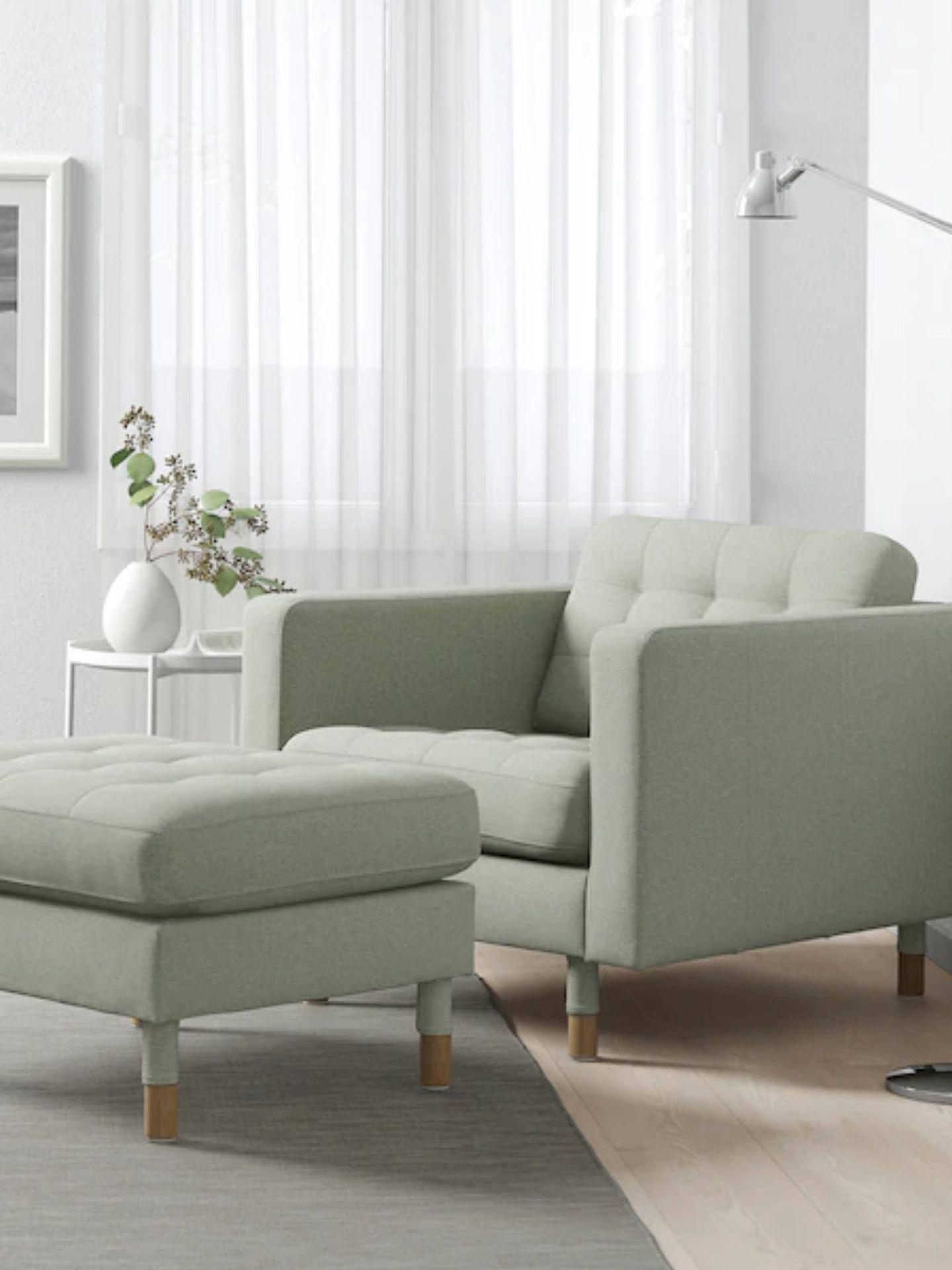 Decora con estos sillones de Ikea tu rincón de lectura perfecto. (Cortesía)