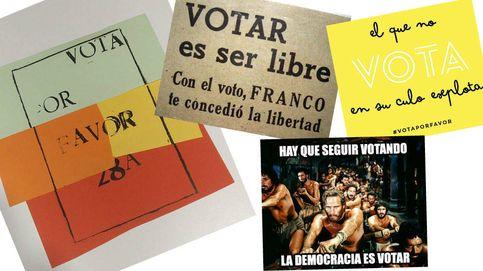 'Vota por favor' vs. 'Yo no voto': la pelea por la participación en las elecciones generales