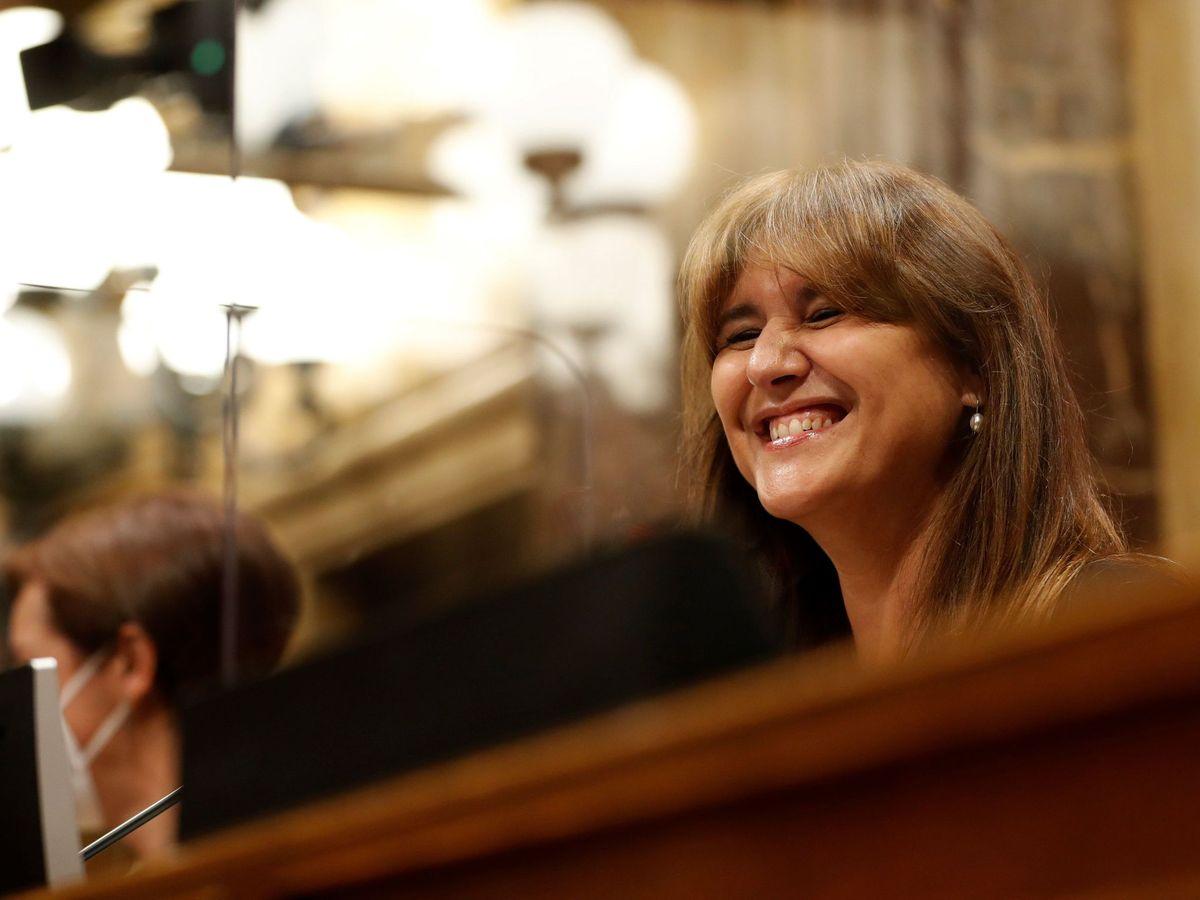 Foto: La presidenta del Parlament de Cataluña, Laura Borràs. (EFE)