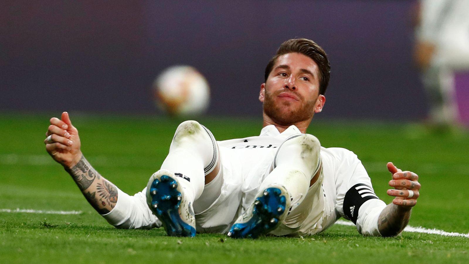 Foto: Sergio Ramos con la camiseta del Real Madrid. (Reuters)