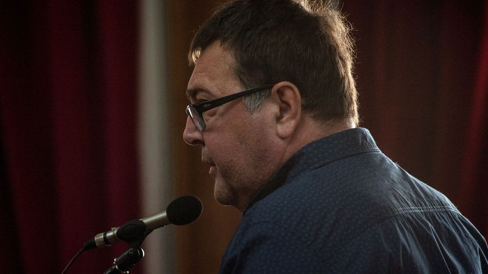 Foto: Miguel Ángel M. N., durante el juicio que lo condenó por provocar un incendio forestal de poco más de una hectárea en el municipio de Os Blancos (Ourense). (EFE)