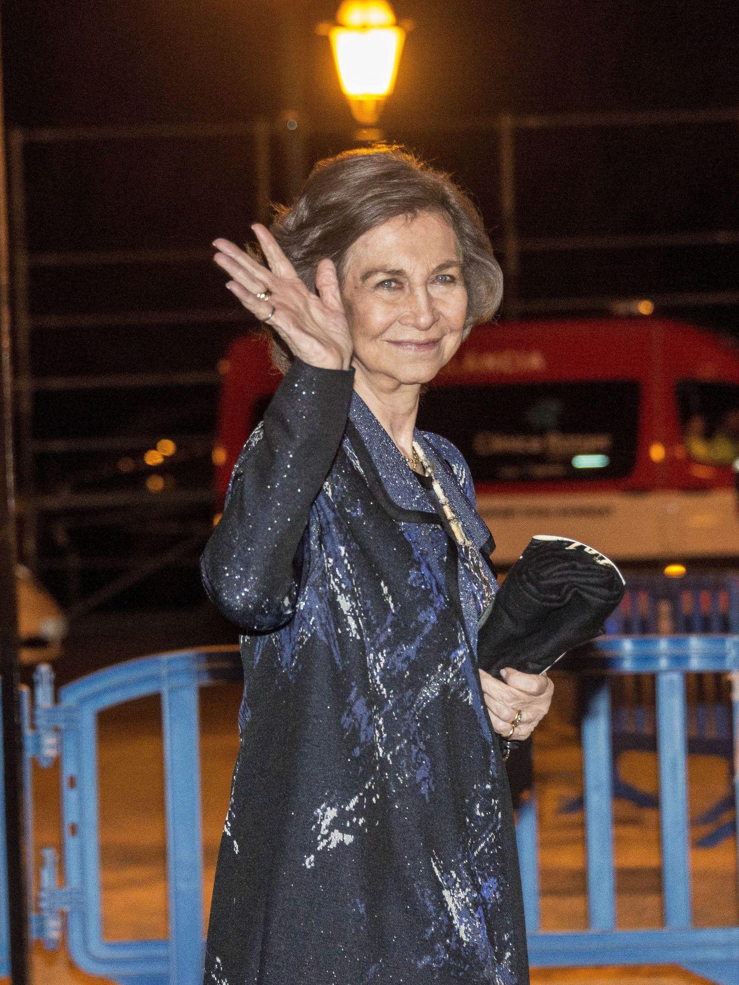 La reina Sofía, en una imagen de archivo. (EFE)