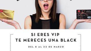 Ya puedes tener tu propia tarjeta 'black' (con 500 euros)