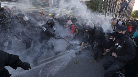 La tensión de los CDR en la protesta de Jusapol se salda con un herido