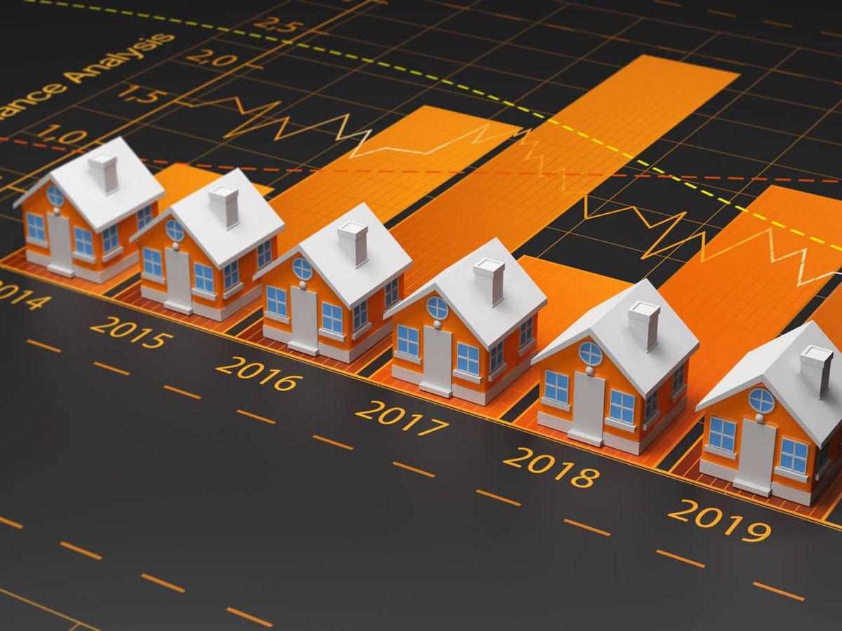 Foto: Evolución del mercado de la vivienda