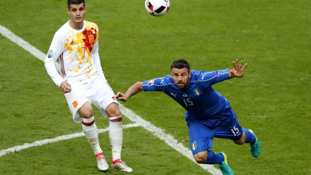 Morata aprendió en Italia todo el trabajo de campo que le falta a esta Selección